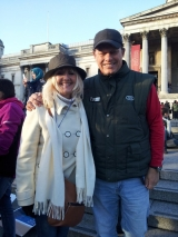 <h5>Born Free Foundation </h5><p>With Will Travers - President of Born Free Foundation at Trafalgar Square.  January 17th 2015.</p>