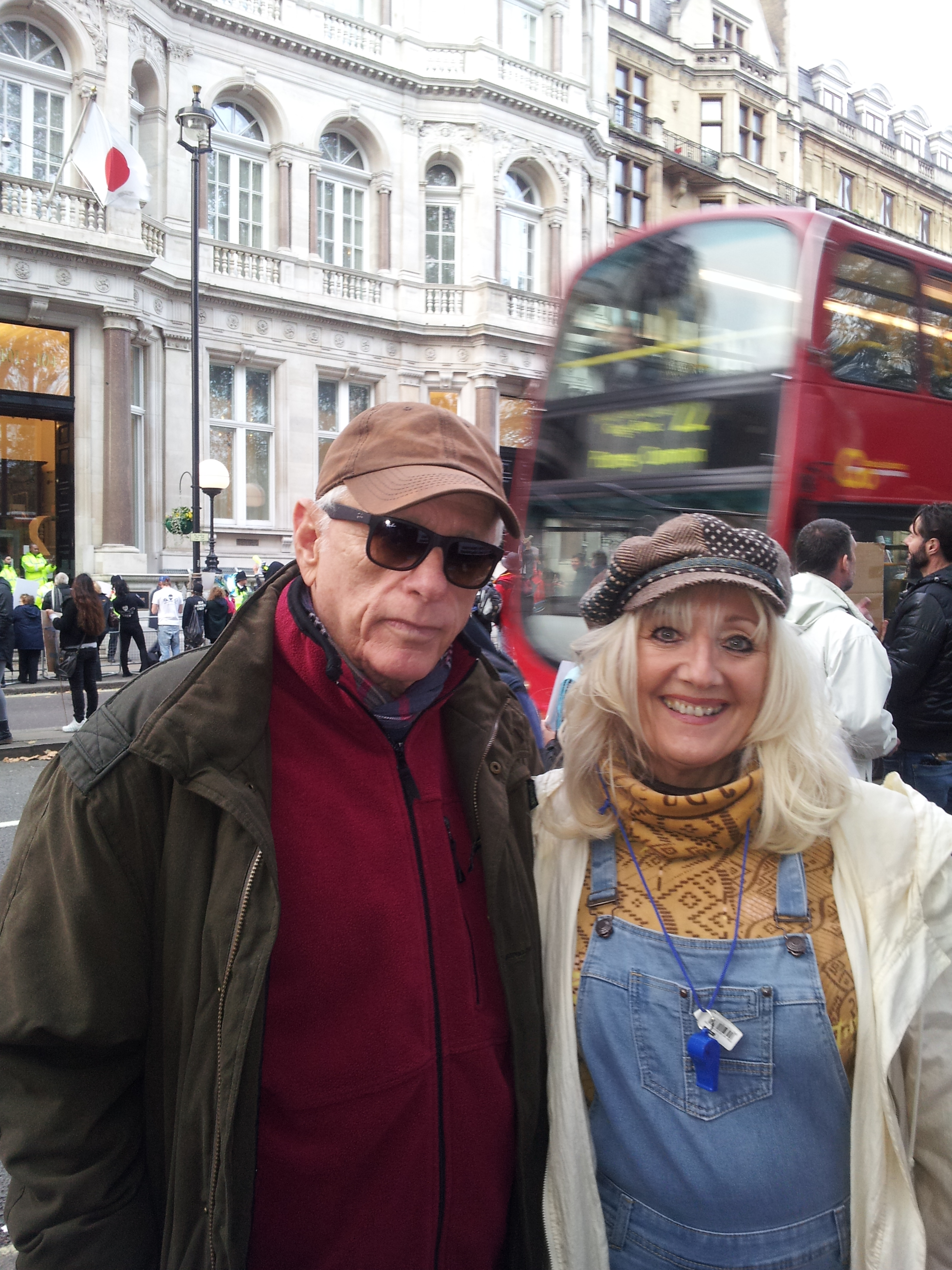 Ric O' Barry & Sharon Bull