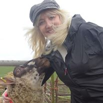 With my favourite boy Joey at Farm Animal Rescue Sanctuary