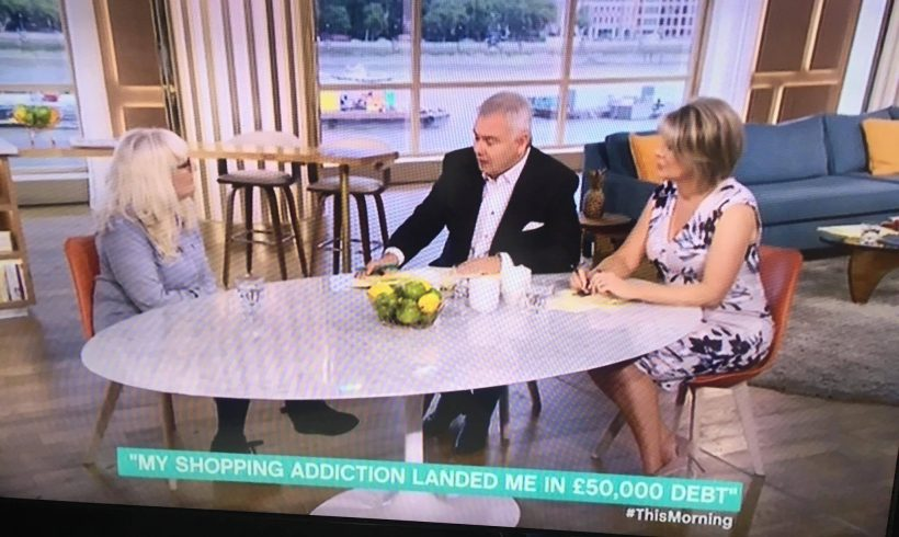 Interview in July 2017 with Eamonn Holmes and Ruth Langsford on ITV's This Morning